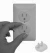 10-Pack Child Safety Outlet Plugs